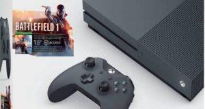 Microsoft ZZG-00028 Xbox One S Battlefield 1 Special Edition Bundle, Grey, 500GB 4