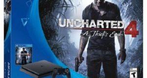 Sony 3001504 PlayStation 4 Slim 500GB Uncharted 4 Bundle 4
