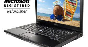 Dell Laptop Windows 10 Latitude Computer Core 2 Duo 4gb Ram Wifi Win DVD 14.1 1