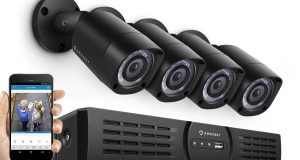 Amcrest 720P 4CH HDCVI Eco-HD CCTV Security System 4 x HD Bullet Cameras 1TB DVR 8