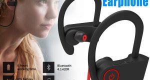 Wireless Bluetooth Sport Headset Stereo Headphone Earphone for iPhone LG Samsung 6