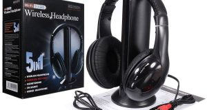 5 in 1 Wireless Headphones Headsets for FM Radio Mp3 Mp4 TV CD/DVD PC VCD Player 2
