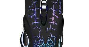 USB 2.0 5500DPI Wired Gaming Mouse Backlight Illuminated Multimedia Mice for PC 8