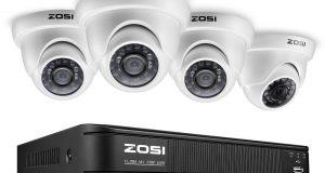 ZOSI 8-Channel HD-TVI 720P Video Security Camera System ,1080N Surveillance DVR 6