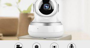 Home Security 1080P HD IP Camera Wireless Smart WI-FI Audio CCTV Camera Webcam 4