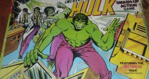 VINTAGE 1979 MARVEL COMICS THE INCREDIBLE HULK SMASH UP ACTION GAME, IMCOMPLETE 5