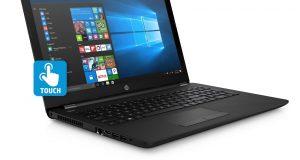 "HP 15-bs020WM, 15.6"" Touch Laptop, Windows 10, Intel Pentium N3710 Quad Core 8"