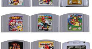 For Nintendo 64 Game Mario Smash Bros Kart Video Game Cartridge Console Card US 6