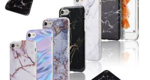 Ultra Slim Marble Pattern Rubber Soft TPU Case Cover for iPhone X/6/7/8 Plus 8