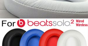 2x Replacement Ear Pads Cushion F Beats by Dr Dre Solo2 Headphone Wired/Wireless 8