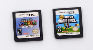 New Super Mario Bros. (Nintendo DS, 2006) Game Only for DS / DSi / 3DS XL / 2DS 8