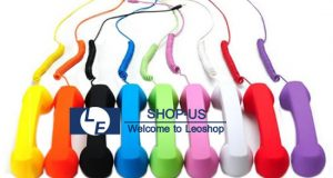 New Fashion Retro POP Cell Phone Handset headset for iPhone 4 4S 5 5S 5C Ipod 2