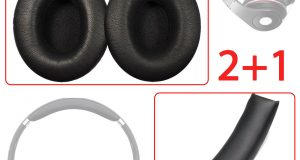 Replacement Ear Pads + Headband Cushion For Beats by dr dre Studio 1.0 Headphone 6
