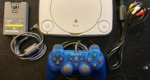 Sony PlayStation 1 PSOne PS1 Slim Console W/ Controller (FULLY TESTED 1