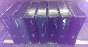 Microsoft Xbox 360s Slim 4GB Matte console replacement (HDMI WiFi) Tested 6
