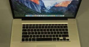 """Apple MacBook Pro A1297 17"""" Laptop, core i 7-2.40 GHz-16GB -750GB HDD 4"""