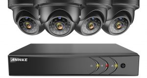 ANNKE 8CH 1080P HDMI 5in1 Security DVR 4x 960P Dome Outdoor Cameras CCTV System 6