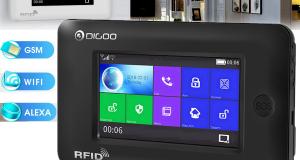 Digoo DG-HAMA Full Touch GSM & WiFi Smart Home Burglar Security Alarm System DIY 8