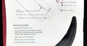 NEW LG Tone Ultra Wireless Stereo Headset + Bluetooth Black HBS-800 2