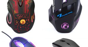 5500DPI LED Optical USB Wired Gaming Mouse 7 Buttons Gamer Laptop Computer Mice 8