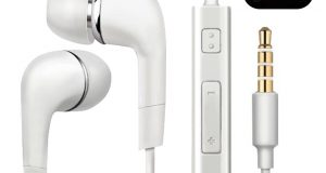 2pcs Genuine Samsung Handsfree Wired Headphones Earphones Earbud with Mic-White 1