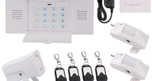 Wireless Home GSM SMS Security Burglar Alarm System Auto Dialing Fire Detector 4