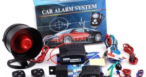 Universal 12v Car Alarm Security Keyless Entry System with Two 4 Button Remotes 2