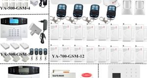 Wireless LCD GSM SMS Home Security Burglar Home Office Alarm System Auto Dial E1 8