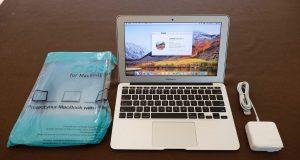 2013 Apple MacBook Air A1465 1.7GHz Intel Core i7 8gb RAM 500gb HD 6