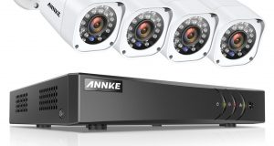 ANNKE CCTV Security Camera System HDMI AHD DVR 8CH 720P Night vision Outdoor KIT 6