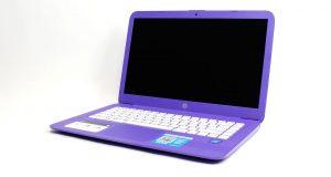 """HP STREAM 14-AX020NR LAPTOP, 14"""", INTEL CELERON N3060 @1.6GHZ, 4GB RAM, 32GB 4"""