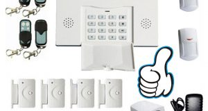 GSM 108 Zones Wireless & Wired Voice Home Alarm Security System LCD Auto Dialer 4