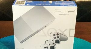 FACTORY SEALED Sony PlayStation 2 Slim Satin Silver Console FAST FREE PRIORITY 4