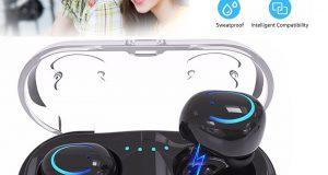 Mini True Wireless Sport Earbuds Headset Bluetooth HIFI In Ear Stereo Headphones 1