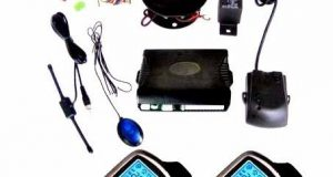 2-Way Car Alarm Security System Keyless Entry w/ 2x LCD Long Distance Controlers 1