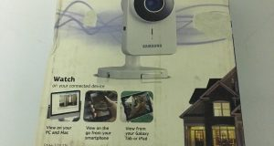 SAMSUNG SNH-1011N SMARTCAM WiFi HOME SECURITY CAMERA Two WAY TALK NIGHT VISION 4
