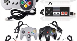 Super Nintendo N64 NES SNES USB Controller GAME PAD For PC MAC Raspberry Pi 3 US 4