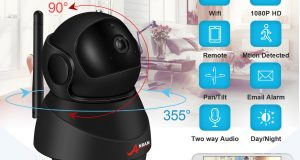 Wireless WiFi HD 1080P IP Camera Home Security Network CCTV Baby Monitor Webcam 1
