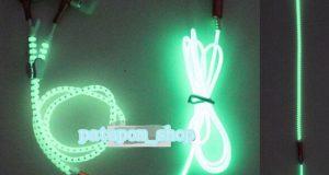 New 1PCS Light Headphones Earphones Headset Luminous zipper In-Ear headphone PAT 4
