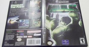 Hulk (Game Cube) 2003 Nintendo action / adventure good condition NO MANUAL 2