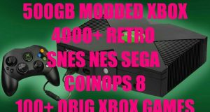 Modded Xbox Original w/ Coin Ops 8 Pre-installed 13,896 Games Total !!! 4