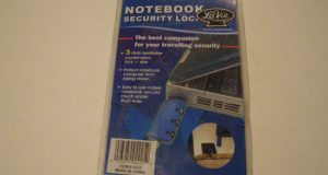 LaVie #4225 Notebook Computer Security Lock New 6