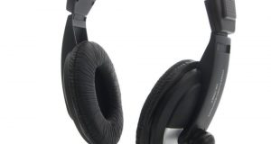 3.5mm Headset Headphones with Microphone Mic for Computer PC Gaming Stereo Skype 4
