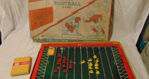 Vintage Tudor Tru-Action Electric Football Game #500 In Original Box 1