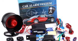1-Way Car SUV Alarm Security Protection Keyless Entry System Speaker + 2 Remote 8