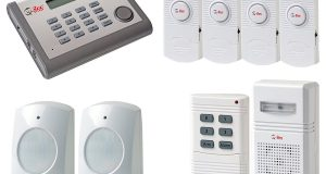 New Q-See QSDL503AD Wireless Home Security Alarm System Kit 1