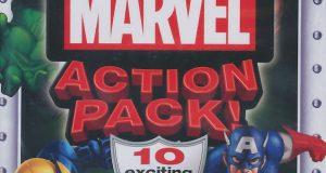 MARVEL ACTION PACK 10x Games Wolverine, Iron Man, Hulk, 2