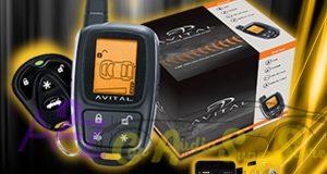 AVITAL 5305 REPLACES 5303 2 WAY REMOTE START CAR ALARM SECURITY 5305L + VSM350 8