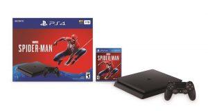 Sony CUH-2215B PlayStation 4 Slim 1TB Spiderman Bundle (Black) 4