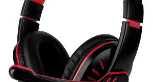for PS4 Xbox Nintendo Switch PC Stereo 3.5mm Wired Gaming Headset [Black/Red] 1